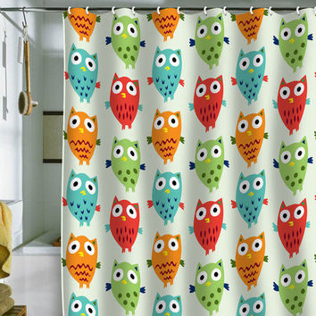 DENY Designs Home Accessories | Andi Bird Owl Fun Shower Curtain