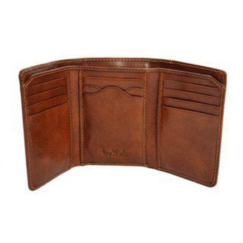 Tony Perotti Traditional Tri-fold Leather Travel Wallet | Overstock.com