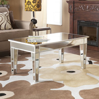 Mirage Mirrored Cocktail Table