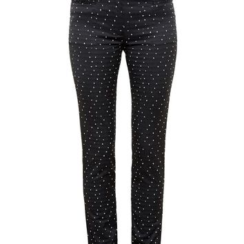ERDEM   Stretch Jacquard Trousers   Browns fashion & designer clothes & clothing
