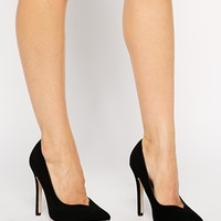 ASOS POSITIVE Wide Fit Pointed High Heels at asos.com