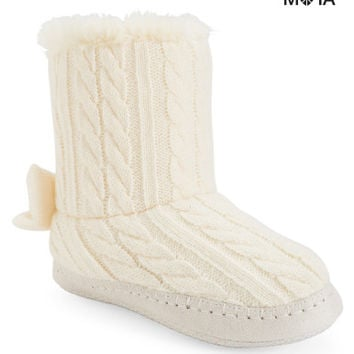 Aeropostale  Cable-Knit Slippers