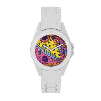 Abstract Wrist Watch