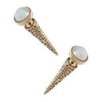 Pearl Aztec Earring - Jewellery By Diva  - Accessories