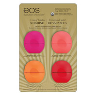 EOS Limited Edition Lip Balm Collection, 4-Pk