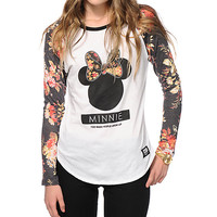 Neff x Disney Minnie Floral Baseball T-Shirt