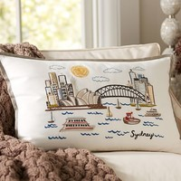 Sydney Embroidered Pillow Cover