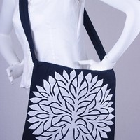 Tree of Life bags - White on Black