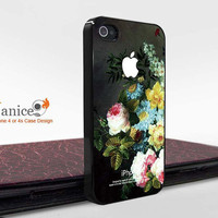 the best iphone 4 cases, iphone cases 4,iphone 4 cover , unique  flower design  Iphone 4 cases