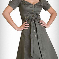 Femme Arsenal Military Dress