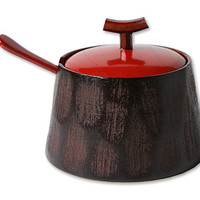 Hime Gotou-Nuri Sugar Pot