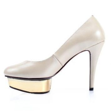 Grace Half Waterproof Pumps