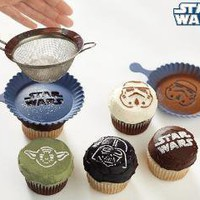 Star Wars Cupcake Stencil Set | Williams-Sonoma