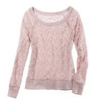 Aerie Lace Popover | Aerie for American Eagle