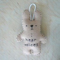 Felt Animal Rabbit Funny Bunny - I .. on Luulla