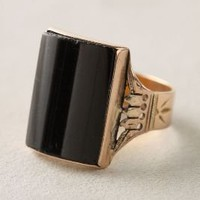 Victorian Onyx Ring - Anthropologie.com