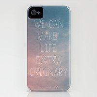 Extraordinary I iPhone Case by Galaxy Eyes | Society6