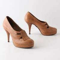 Stacked Strap Heels - Anthropologie.com