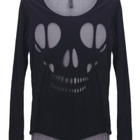 Double Layered Skull T-shirt | $31.06
