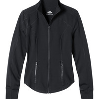 zip front performance jacket with techtile™ fabric