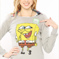 Spongebob Reversible Sweatshirt