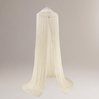 Indian Cotton Gauze Bed Canopy - World Market