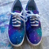 Women&#x27;s Cotton Candy White Sole Galaxy Shoes