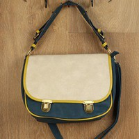 Picket Fence Satchel Bag