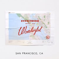 Best Made Company  Wonderful Silk Screened Maps