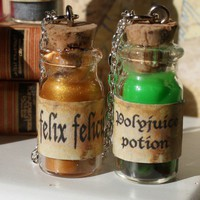 Harry Potter Potion 2 BFF Necklaces by tinytongue on Etsy