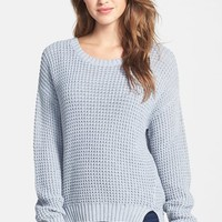 Women's Two by Vince Camuto Drop Shoulder Waffle Stitch Sweater