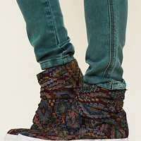 Free People Teagan Tapestry Sneaker