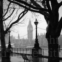 London Rain Fine Art Print by kmsitko on Etsy