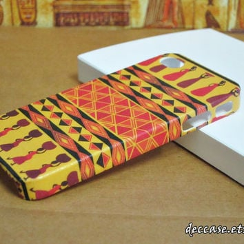 Case iPhone, iPhone 4s Case, iPhone 4 Case - Egypt Tribal Modern Style