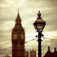 Stands the clock at quarter to three Big Ben and by sparksoffire