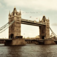 Tower Bridge 1 London England Fine Art Photo by JimAmosPhotos22