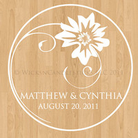 Wedding Dance Floor Decals Always Yours