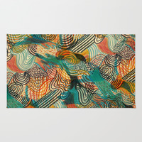 I'm crazy about Estelle Rug by Marcelo Romero