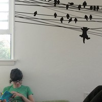Blik Wall Decals: Ambition Killed the Cat by Threadless