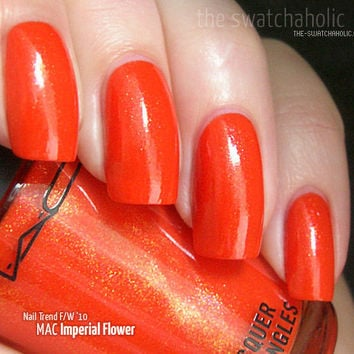 MAC ? Nail Trend Fall/Winter 2010: Swatches and Review | The Swatchaholic . a blog about nail polish and makeup
