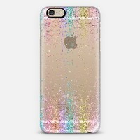 Rainbow Sparkly Glitter Burst iPhone 6 case by Organic Saturation   Casetify
