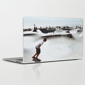 Venice Skate Scene Laptop & iPad Skin by Leigh VanDeMark