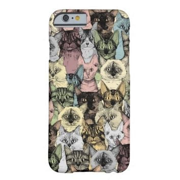 just cats retro phone case ~ lots of models ~ also other colors