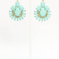 MACA Clothe  Oh my Gosh Earring in Mint