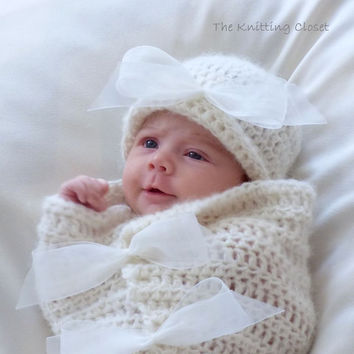 Easy-Crochet-Pattern-Baby-Cocoon-Photography-Prop- | eBay