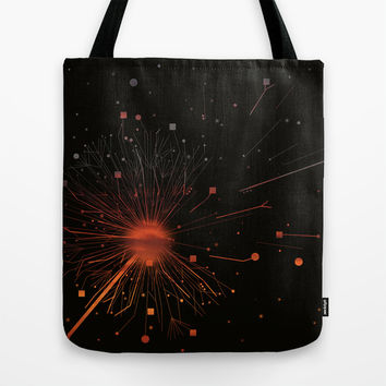 RISE OF DANDELION Tote Bag by ARCHIGRAF