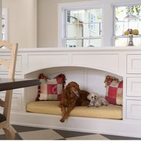Stuff I think Tori will like / every home should have a comfy little nook for their best friends...