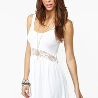 Laced Tank Dress