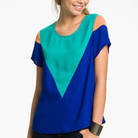 Inspira Colorblock Top (Juniors) | Nordstrom