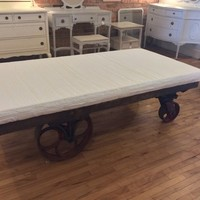 Metal Industrial Cart, Day Bed